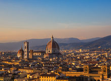Catedral de Santa Maria del Fiore uma Florença Fotografia de Stock Royalty Free