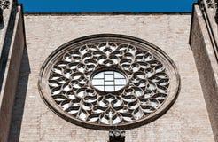 Catedral de Santa Maria del Mar Imagem de Stock Royalty Free