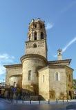 Catedral de Santa Maria del Romeral Monzon Spain Imagen de archivo libre de regalías