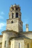 Catedral de Santa Maria del Romeral Monzon Spain Foto de archivo libre de regalías