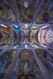 Catedral de Santa Maria em Palma de Mallorca fotografia de stock
