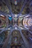 Catedral de Santa Maria en Palma de Mallorca fotografía de archivo