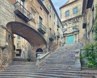 Catedral de Santa Maria Girona Fotografia Stock