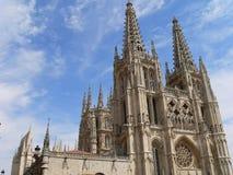 Catedral De Santa Maria Losu Angeles Mayor, Burgos (Hiszpania) zdjęcie stock