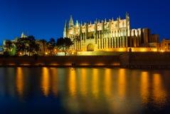 Catedral de Santa Maria de Palma, Mallorca foto de stock