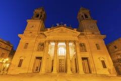 Catedral de Santa Maria in Pamplona Royalty Free Stock Images