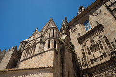 Catedral de Santa Maria of Plasencia. Spain Royalty Free Stock Images