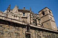 Catedral de Santa Maria of Plasencia. Spain Stock Photography