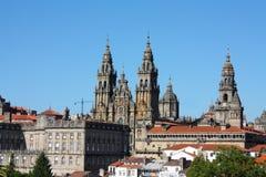 Catedral de Santiago de Compostela Foto de archivo libre de regalías