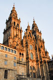 Catedral de Santiago de Compostela Foto de Stock Royalty Free
