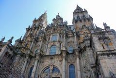 Catedral de Santiago de Compostela Imagem de Stock