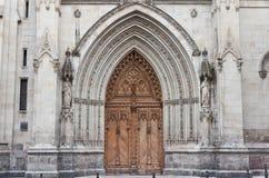 Catedral de Santiago en Bilbao, España Fotografía de archivo