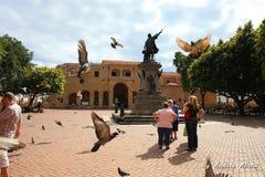 Catedral de Santo Domingo, πρώτη καθολική εκκλησία στην Αμερική Στοκ Εικόνες