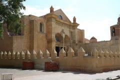 Catedral de Santo Domingo, första katolsk kyrka i Amerika Arkivfoto