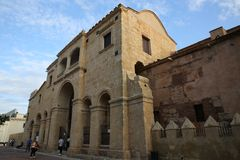 Catedral de Santo Domingo, första katolsk kyrka i Amerika Royaltyfria Bilder