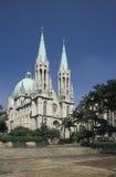 Catedral de Sao Paulo, Brasil foto de stock