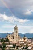 Catedral de Segovia Fotografia de Stock