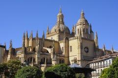 Catedral de Segovia de St Mary, España Foto de archivo libre de regalías