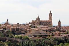 Catedral de Segovia, España imagenes de archivo