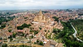 Catedral de Segovia, España Imágenes de archivo libres de regalías