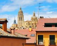 Catedral de Segovia, Spain fotografia de stock royalty free