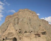 Catedral de Selime, provincia de Aksaray, Turquía Imágenes de archivo libres de regalías
