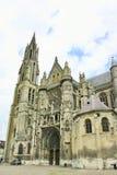 Catedral de Senlis, Francia Imagen de archivo