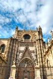 Catedral de Sevilha Imagens de Stock