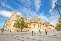 Catedral de Sevilha Imagem de Stock