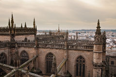 A catedral de Sevilha, Spain Imagens de Stock Royalty Free
