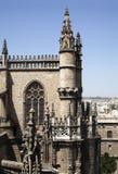 Catedral de Sevilla Fotografía de archivo libre de regalías