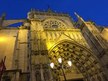 Catedral De Sevilla Royalty Free Stock Images