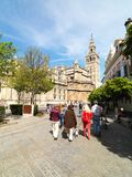 Catedral de Sevilla, Andalucía, España En abril de 2015 Foto de archivo libre de regalías