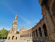 Catedral de Sevilla, Andalucía, España En abril de 2015 Imágenes de archivo libres de regalías