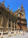 Catedral de Sevilla, Seville domkyrka, Spanien royaltyfri fotografi