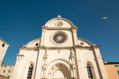 Catedral de Sibenik Imagen de archivo libre de regalías