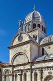 Catedral de Sibenik, Croácia Fotos de Stock