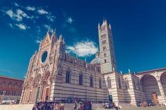 Catedral de Siena Imagenes de archivo