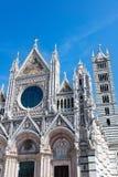 Catedral de Siena imagem de stock