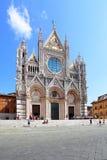 Catedral de Siena foto de archivo