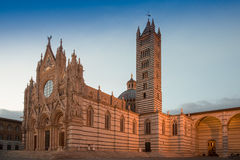 Catedral de Siena Fotografia de Stock Royalty Free