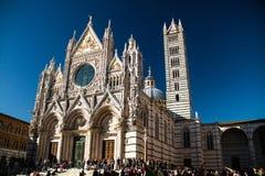 Catedral de Siena Foto de archivo libre de regalías