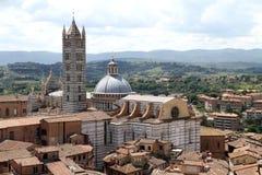 Catedral de Siena, domo do IL Imagens de Stock Royalty Free
