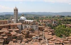 Catedral de Siena, Duomo de IL Fotografía de archivo