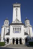 Catedral de Sighisoara   Foto de archivo