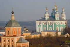 Catedral de Smolensk fotografía de archivo
