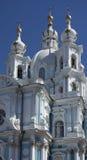 Catedral de Smolny Foto de archivo libre de regalías