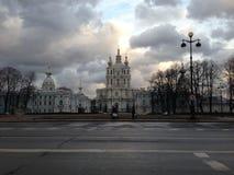 Catedral de Smolny Imagen de archivo libre de regalías