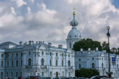 Catedral de Smolny no ¾ de St Petersburg Ð Fotografia de Stock