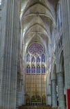 Catedral de Soissons, França Foto de Stock Royalty Free